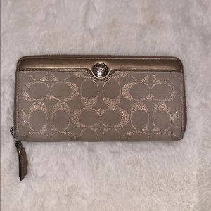 Bronze Coach Wallet